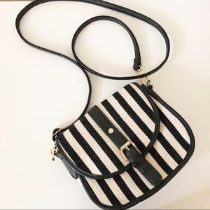 Handbags - Sold. Crossbody bag navy white